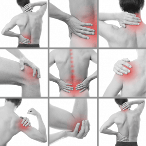 Pains that an Osteopath works on