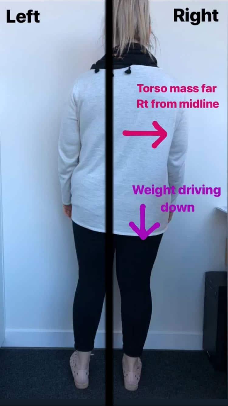 Anatomy in Motion | weight distribution | Elise Fuller | Mont Albert