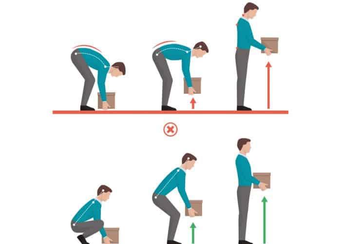 Lifting Posture | Back Injury | Ergonomics | Mont Albert