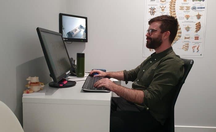Desk setup | Osteopathy | ergonomics