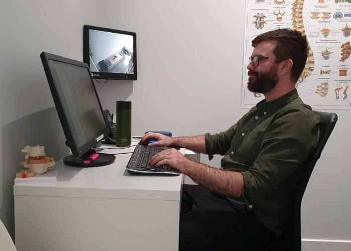 Desk setup   Osteopathy   ergonomics