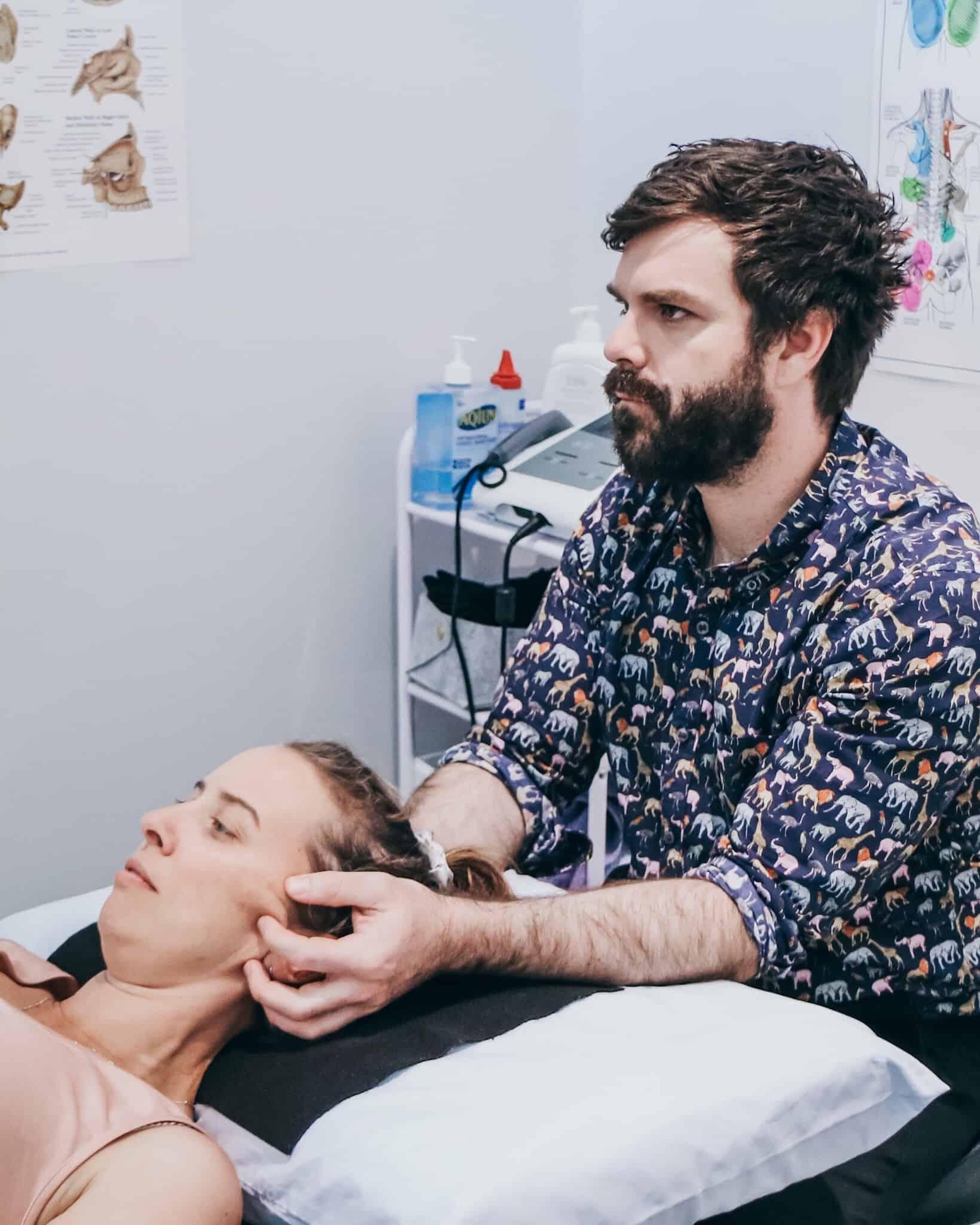 cranio sacral treatment | Dr Tristan Joss